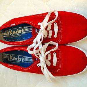 Keds Red Low Rise Sneaker